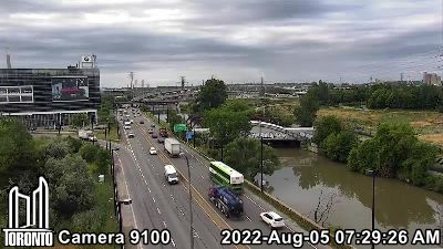 Webcam of Don Valley Parkway at Eastern