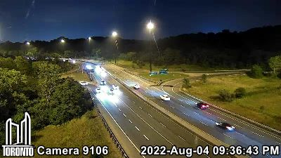 Webcam of Don Valley Parkway at Don Mills
