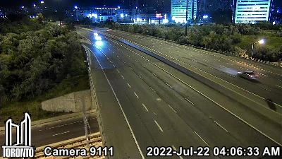 Webcam of Don Valley Parkway at Eglinton