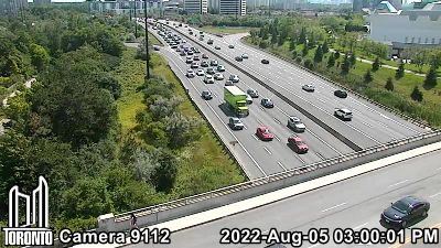 Webcam of Don Valley Parkway at Wynford Drive