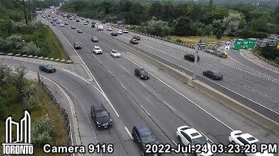 Webcam of Don Valley Parkway at York Mills