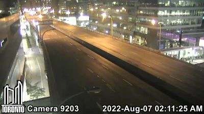 Webcam of Gardiner Expressway at York