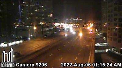 Webcam of Gardiner Expressway at Bathurst