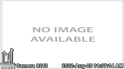 Webcam of Gardiner Expressway at Palace Pier Crt