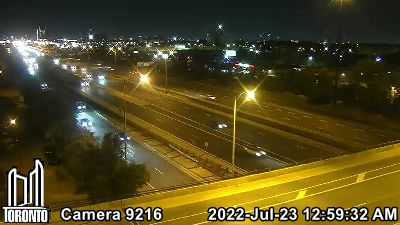 Webcam of Gardiner Expressway at Royal York