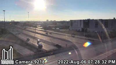 Webcam of Gardiner Expressway at Kipling
