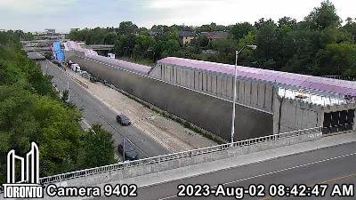 Webcam of Allen Expressway at Viewmount Avenue