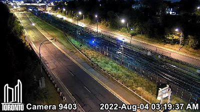 Webcam of Allen Expressway at Glengrove Avenue