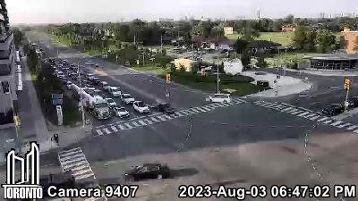Webcam of Allen Expressway at Sheppard Avenue West